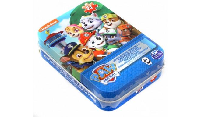 CARDINAL GAMES lenticular puzzle in tin 24pcs Paw Patrol, 6028794