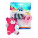 CANPOL BABIES plush toy with bell Bears Coral 68/054_cor