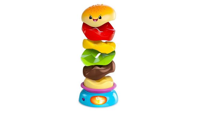 BRIGHT STARTS mänguasi Stack'Nspin burger, 52126
