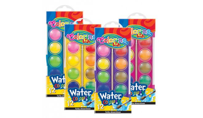 COLORINO KIDS vesivärvid 12 värvi, 41508PTR