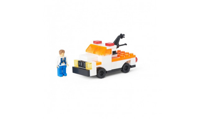 ELC Tow truck buildings bricks 140206