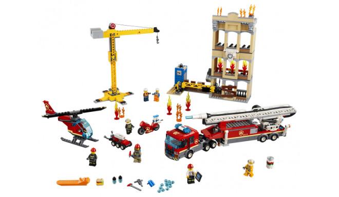 60216 LEGO® City Fire Kesklinna tuletõrjebrigaad