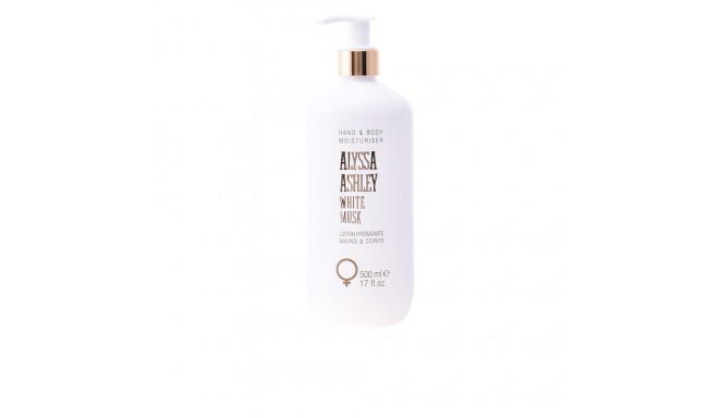 Alyssa Ashley WHITE MUSK hand & loción hidratante corporal 500 ml