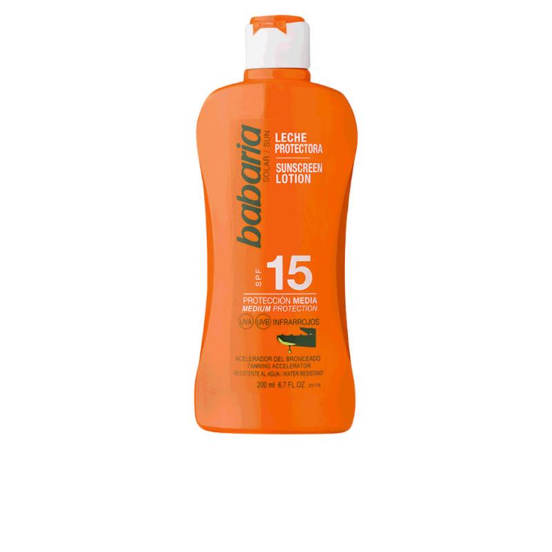 SOLAR ALOE VERA leche solar SPF15 200 ml