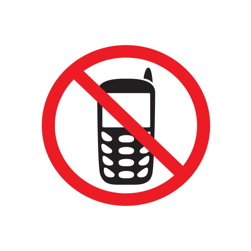 Картинка отключить мобильный телефон