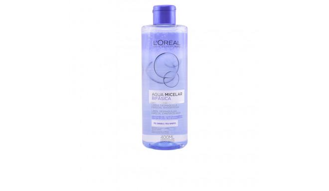 L'Oreal Make Up AGUA MICELAR BIFASICA piel sensible 400 ml