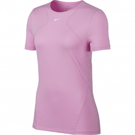 Femme Nike W NP Top SS All Over Mesh T-Shirt