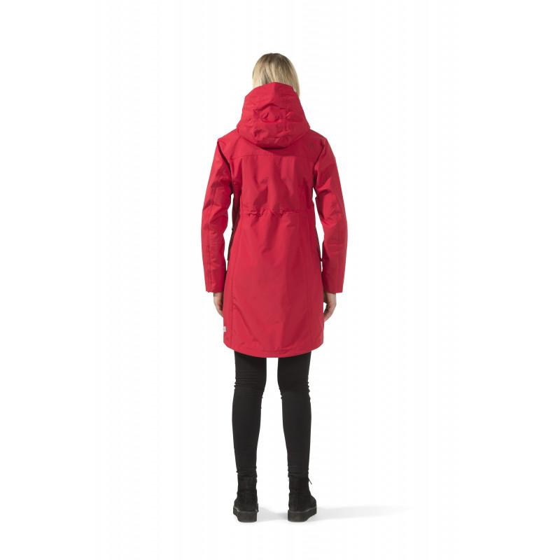 4b7e2ac39e9 Kevad/sügis mantel/parka Didriksons Thelma punane - Jackets - Photopoint