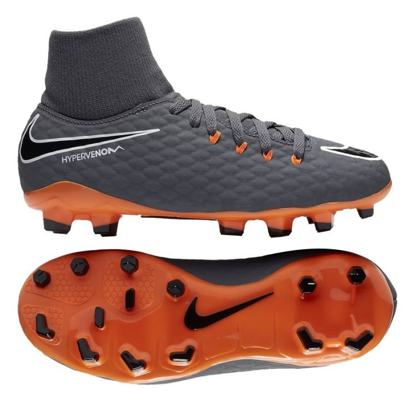 separation shoes 2e8b5 5c4b6 Kids football shoes Nike Hypervenom Phantom 3 Academy DF FG Jr AH7287-081