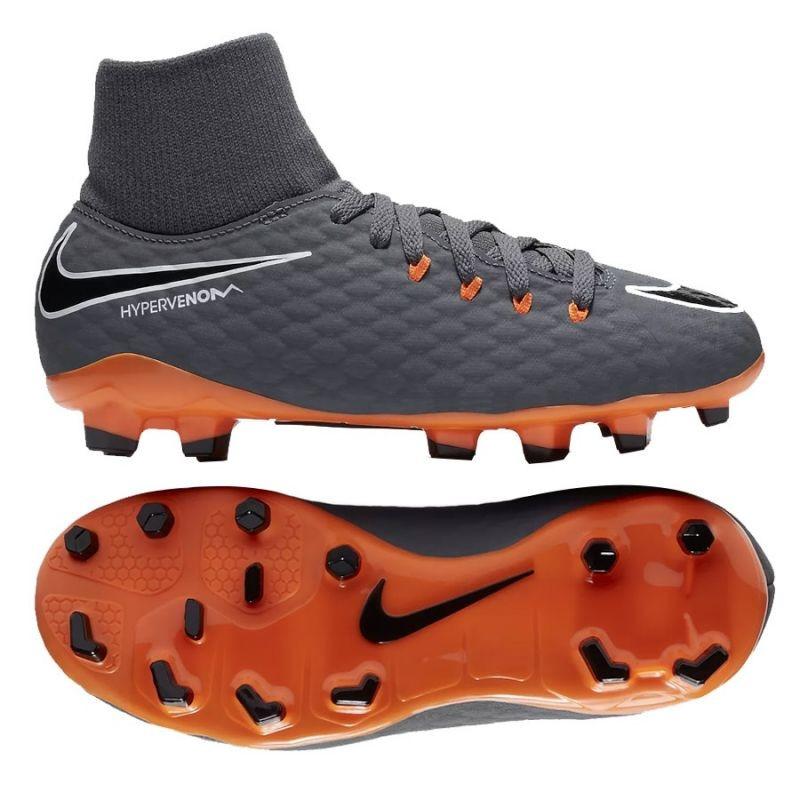 30bd7586117 Kids football shoes Nike Hypervenom Phantom 3 Academy DF FG Jr AH7287-081
