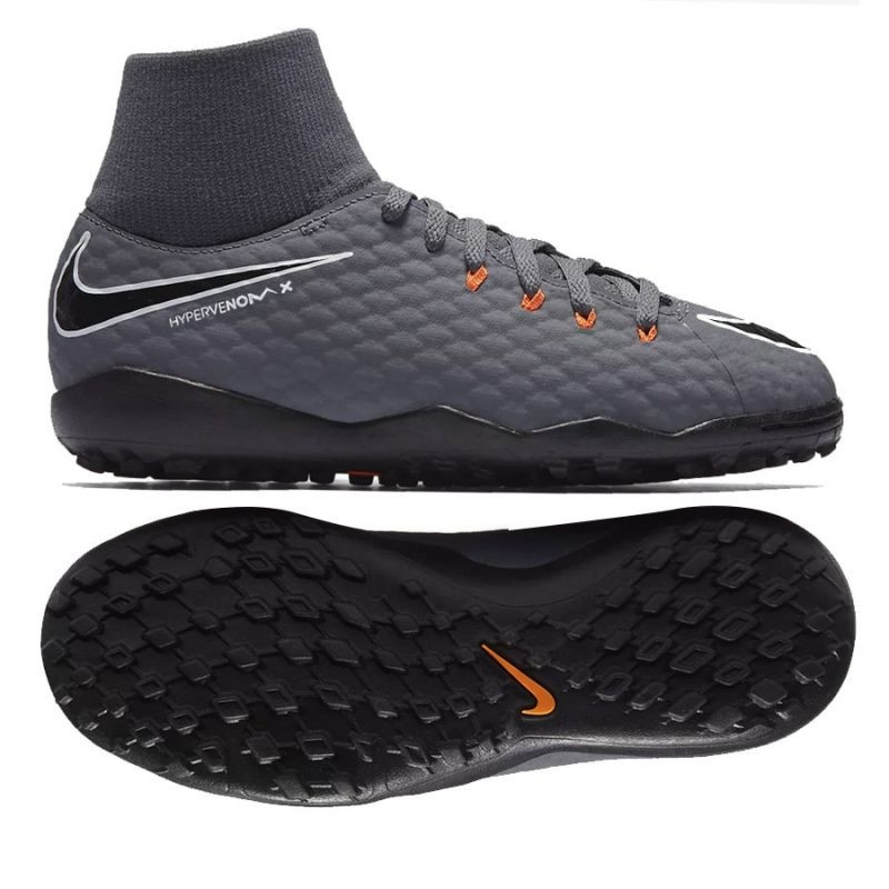 the latest 67156 6318e Kids football shoes Nike Hypervenom PhantomX 3 Academy DF TF Jr AH7293-081