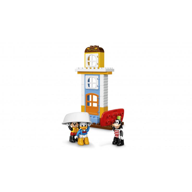 LEGO DUPLO mänguklotsid Miki ja sõprade rannamaja