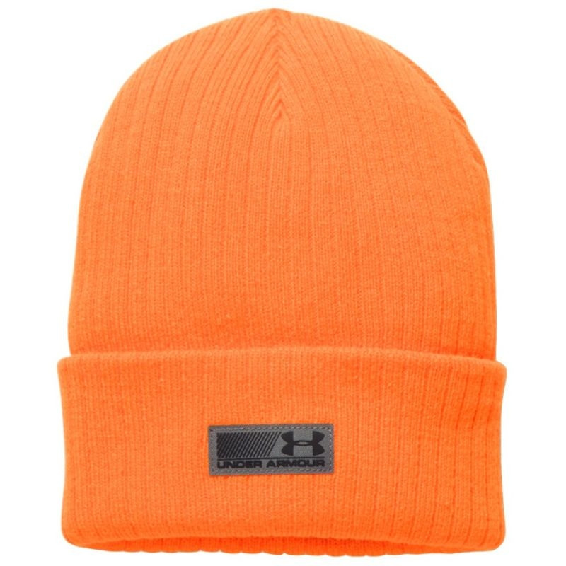 5dea9d2912c9d9 Men's winter hat UA Truck Stop Beanie 1283122-825 - Hats - Photopoint