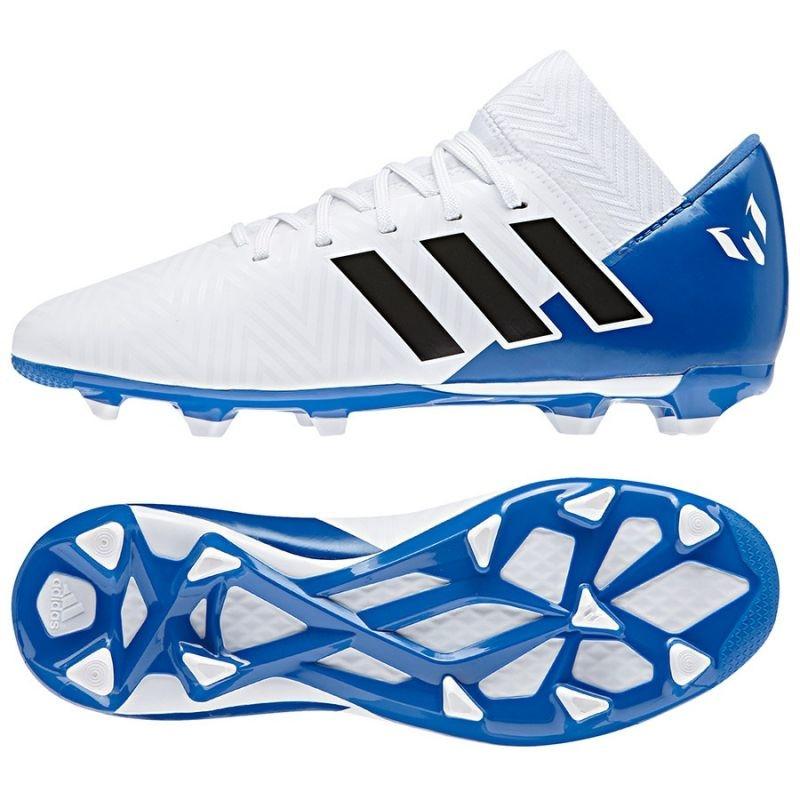 c68c43d8f88 Kids grass football shoes adidas Nemeziz Messi 18.3 FxG Jr DB2364 ...