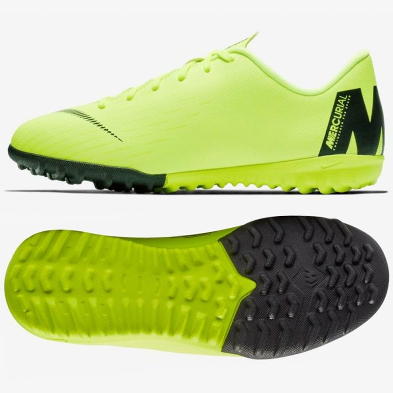99a23573767 Kids artificial grass football shoes Nike Mercurial VaporX 12 Academy GS TF  Jr AH7342-701