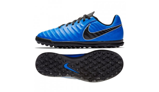 13d697ae17 Kids turf football shoesid Nike Tiempo Legend 7 Club TF Jr AH7261-400 -  Training shoes - Photopoint