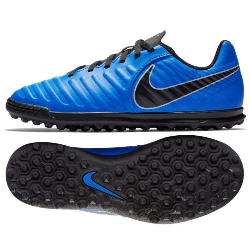outlet store 43333 15f1d Kids turf football shoesid Nike Tiempo Legend 7 Club TF Jr AH7261-400