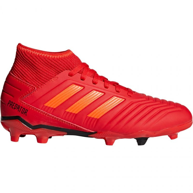 Kids grass football shoes adidas Predator 19.3 FG Jr CM8534