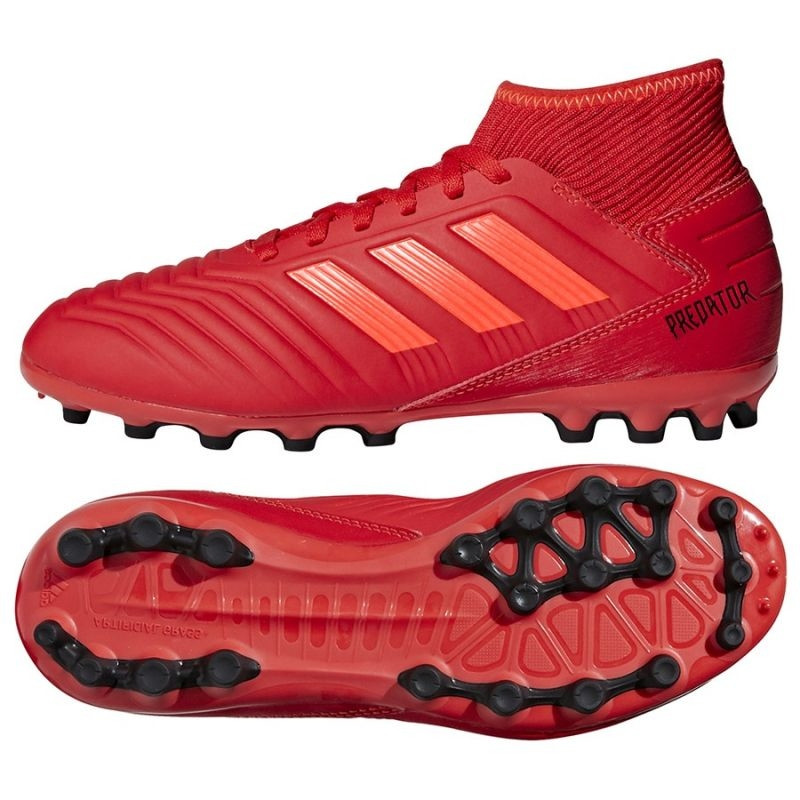 Kids grass football shoes adidas Predator 19.3 Jr D98005
