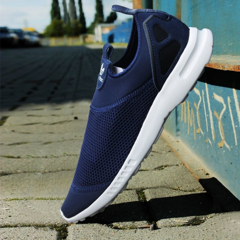 sports shoes 262ca 3b51a Women's casual shoes adidas Originals ZX Flux Smooth Slip On W S78958