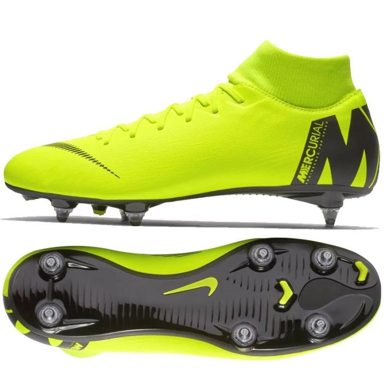 low priced f4ca9 c5d13 Men's grass football shoes Nike Mercurial Superfly 6 Academy SG Pro M  AH7364-701