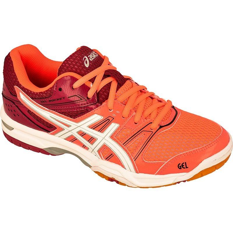 Women's volleyball shoes Asics Gel Rocket 7 W B455N 0601