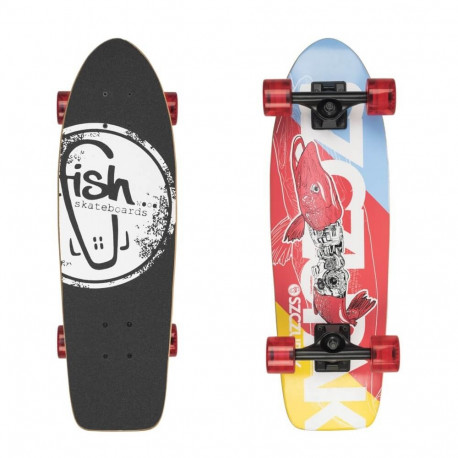 c8c779a55c Mini longboard Fish Old School Cruiser Szczupak 26
