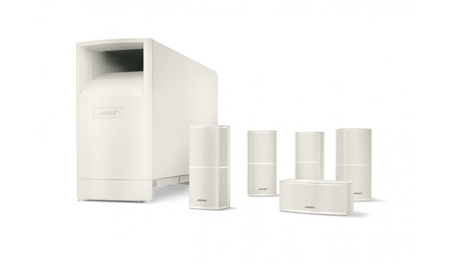 Bose Acoustimass® 10 V seeria kodukino kõlarisüsteem valge