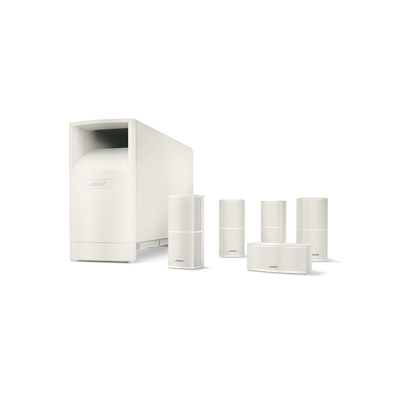 Acoustimass® 10 V seeria kodukino kõlarisüsteem valge
