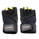 Adults training gloves black/yellow HMS XL