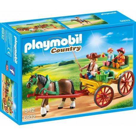 cc41eb2887a Playmobil mängukomplekt Horse Carriage (6932)