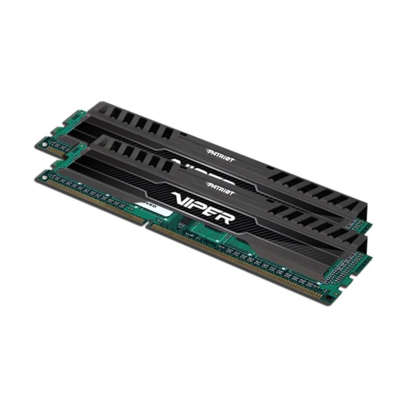 Patriot RAM DDR3 16GB 1600-10 Viper3 Black Mamba Dual