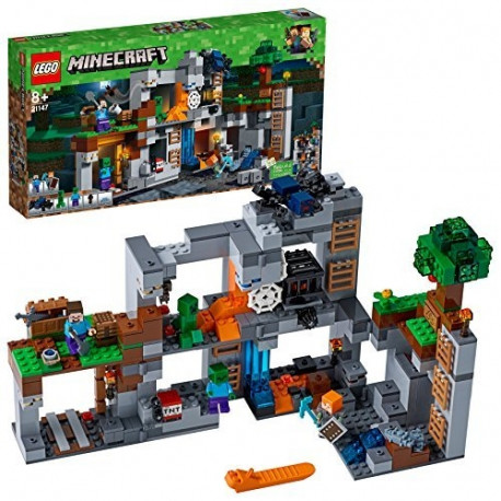 e26bb9972a1 LEGO Minecraft toy blocks Adventure in the Rocks (21147)