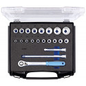 """Gedore 1101 CT-19 wrench set 1/2"""" - 21-pieces - 2836084"""