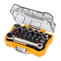 DeWalt DT71516-QZ 24 Piece High Performance Socket and Screwdriving set - DT71516