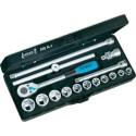 Hazet 880N-1 3/8-Inch Socket set - Black/Blue/Silver - 16-Piece - DIY & tools