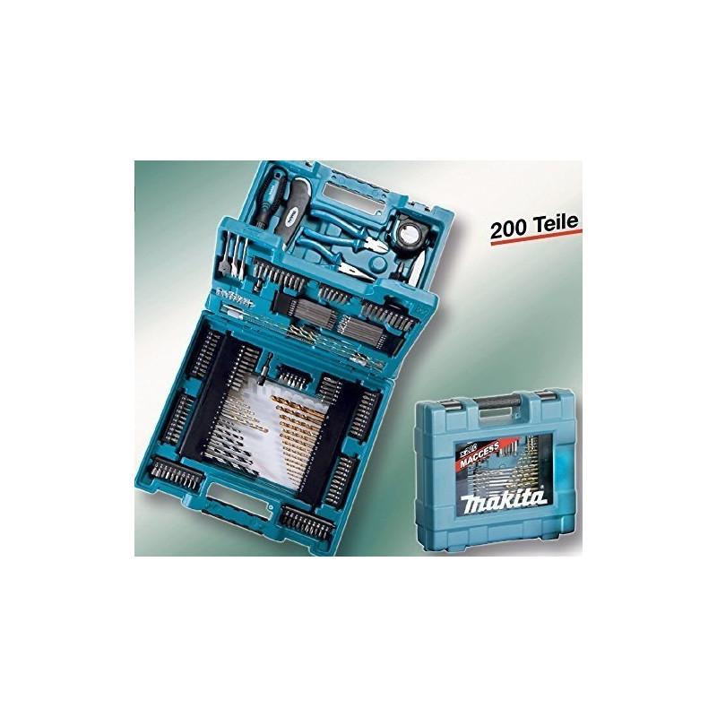 d1170be28ee Makita tööriistakomplekt D-37194 200tlg - Puurid - Photopoint