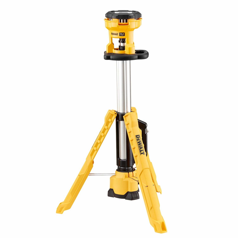 DeWalt LED cordless construction site spotlight DCL079