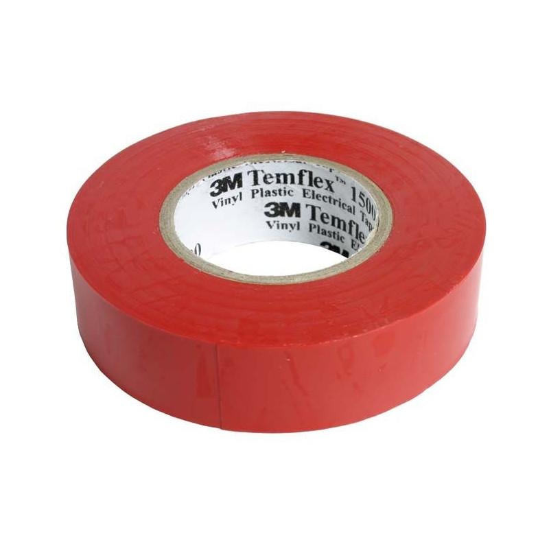 3M isoleerpael punane 19mm x 20m x 0,15mm Temflex