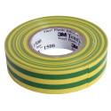 3M isoleerpael kollane/roheline 19mm x 20m x 0,15mm Temflex