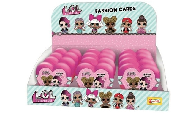 Cards L.O.L. Surprise Fasion Cards display 12 pieces