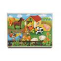 Brimarex Wooden farm puzzle