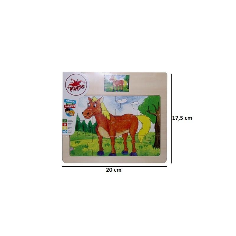 Brimarex Wooden puzzle Horse