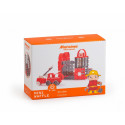 Construction blocks Mini Waffle Fireman Large Set
