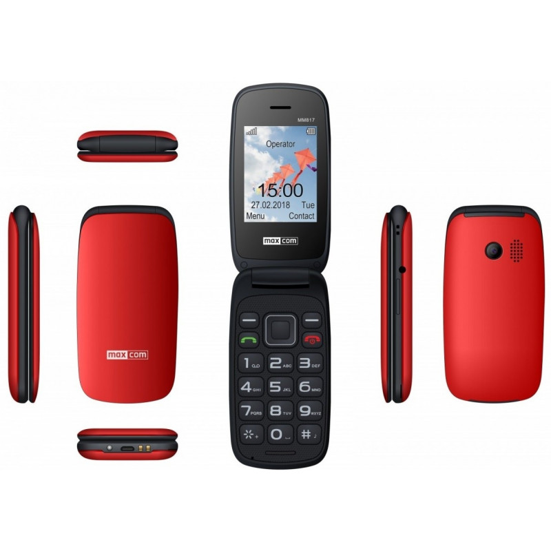 Mobile phone MM 817 red