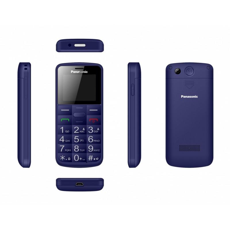 Mobile phone for senior KX-TU110 blue