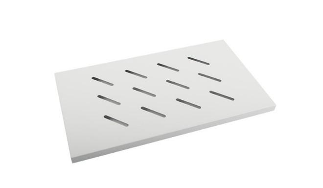19 Fixed Rack Shelf 1U 500x280mm grey