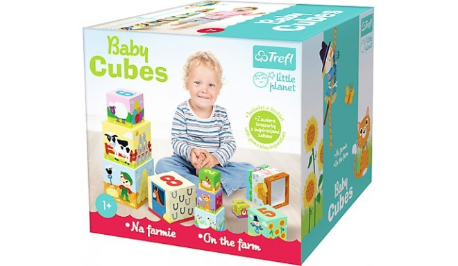 Baby cubes - On the farm - Little planet