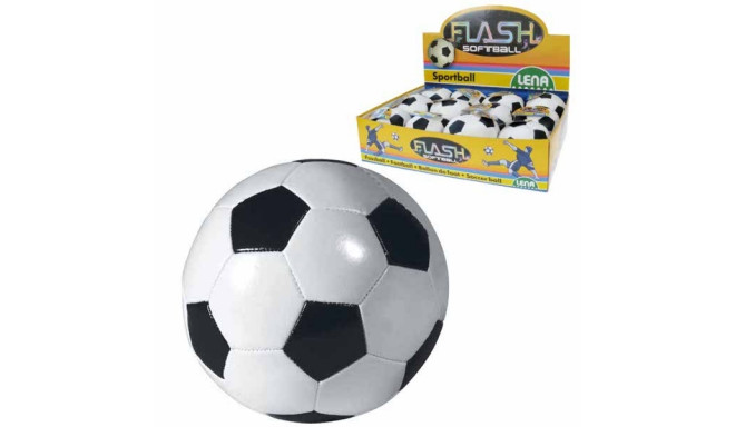 Lena soft ball 10cm, black/white
