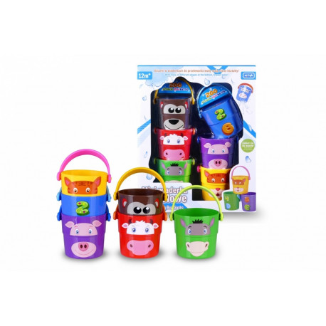 47ca3f16ea8 Pyramid-Mini bathing buckets EDU&FUN